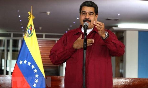 Tổng thống Venezuela Nicolas Maduro. (Nguồn: EPA-EFE/ TTXVN)