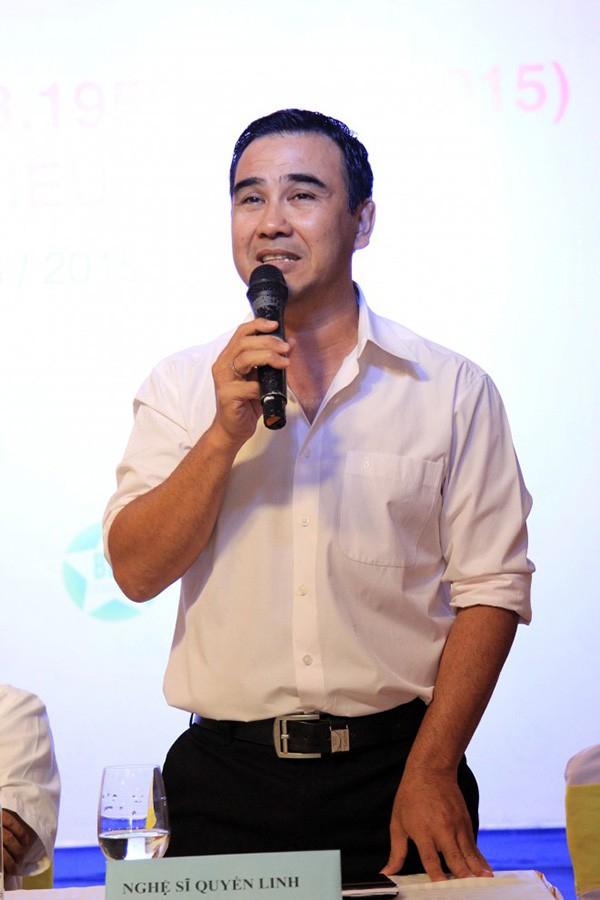 Quyền Linh thông báo đang có mặt tại Hà Nội để gặp người trúng Vietlott.