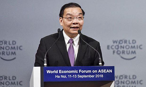 Bộ trưởng Chu Ngọc Anh phát biểu tại Diễn đàn. Ảnh: TG&VN.