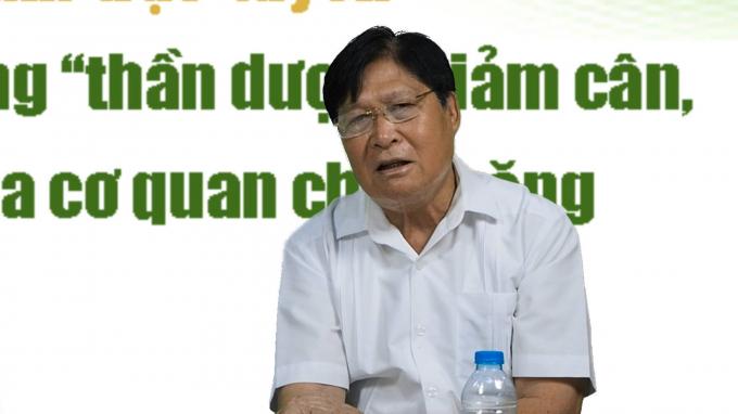 TS. BS Phạm Hưng Củng -Đại diện của Hiệp hội Thực phẩm chức năng Việt Nam, nguyên Vụ trưởng Vụ Y học Cổ truyền, Bộ Y tế.