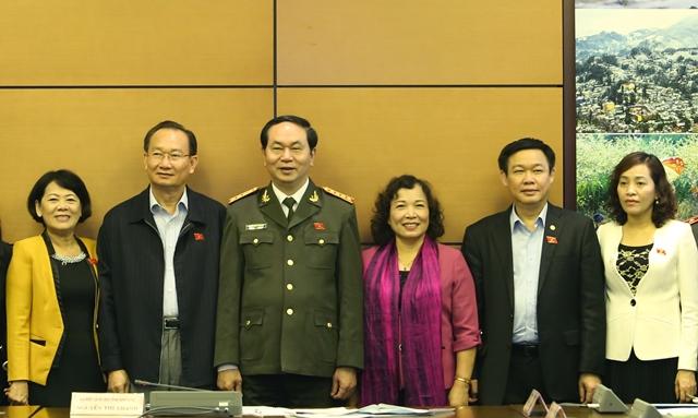 Đại tướng Trần Đại Quang luôncứng rắn về nguyên tắc, mềm dẻo về sách lược. (Ảnh: VietnamNet)