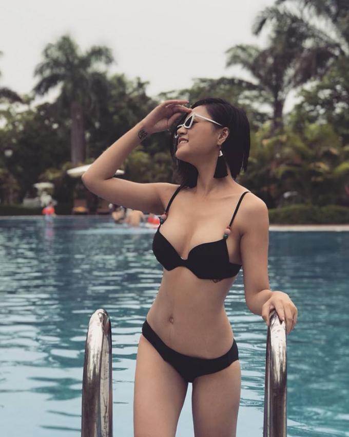 Được biết, năm 2008, nhan sắc của Thu Quỳnh đã giúp cô lọt vào Top 10 cuộc thi Hoa hậu Việt Nam.