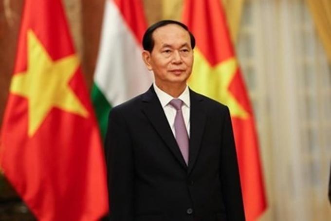 Chủ tịch nước Trần Đại Quang. (Ảnh: Lao động)