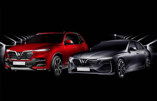 Hai mẫu SUV và Sedan của VinFast chuẩn bị ra mắt tạiParis Motor Show 2018.