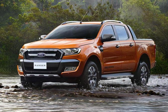 Ford Ranger (từ 4-35 triệu đồng).