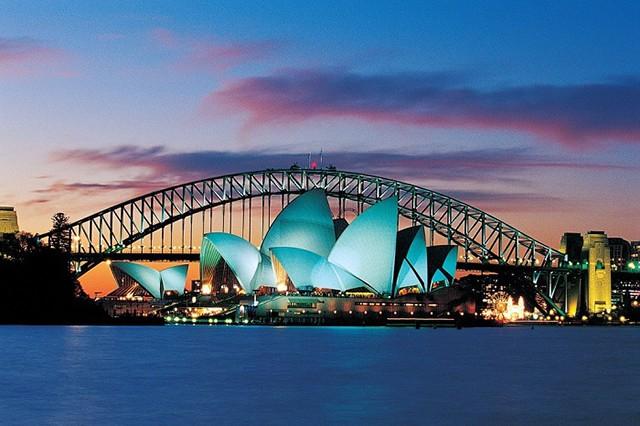Nhà hát Opera của Úc, trở thành biểu tượng du lịch hấp dẫn.