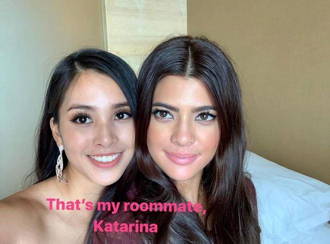 Tiểu Vy chia sẻ cô ở chung phòng với Hoa hậu người Philippines