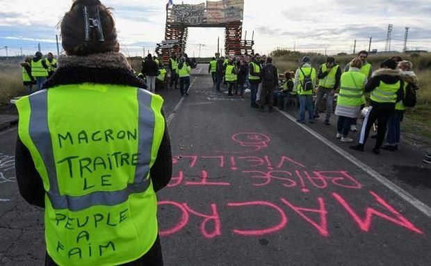 Người biểu tình tại Pháp.
