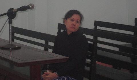 Bị cáo Nguyễn Thị Nga. Ảnh CATP HCM