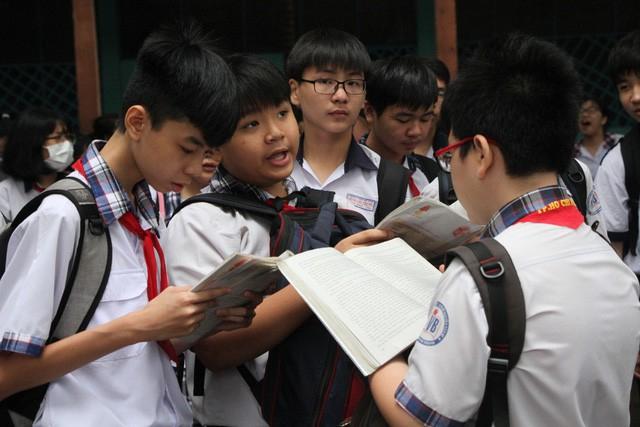 Học sinh TPHCM đang chuẩn bị cho kỳ tuyển sinh lớp 10 căng thẳng (ảnh minh họa)