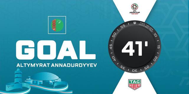 Turkmenistan bất ngờ có bàn thắng gỡ hòa 1-1