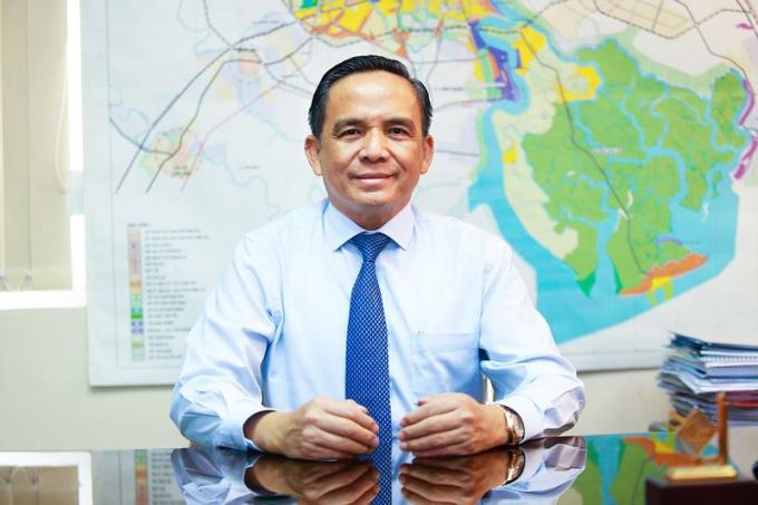 Ông Lê Hoàng Châu, Chủ tịch Hiệp hội BĐS TP HCM