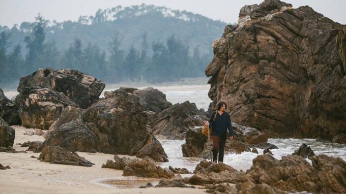 Hình ảnh thơ mộng trong phimNgười bất tử.