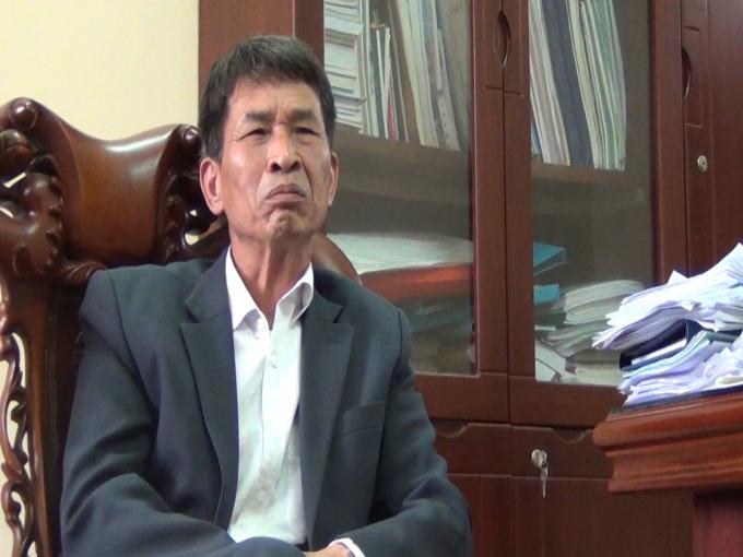 Ông Giáp Văn Dẹp – Chủ tịch UBND xã Phú Minh (Sóc Sơn, TP Hà Nội)
