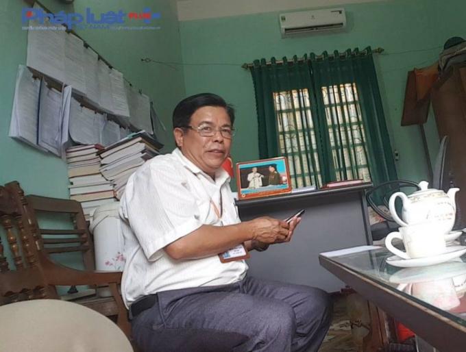 Ông Hoàng Ngọc Xanh – Chủ tịch UBND xã Đồng Khê, huyện Văn Chấn (Yên Bái).