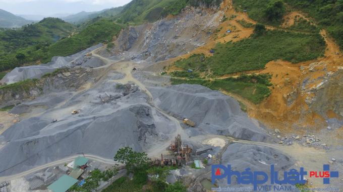 Yên Bái: Doanh nghiệp khai thác đá, sản xuất atphan
