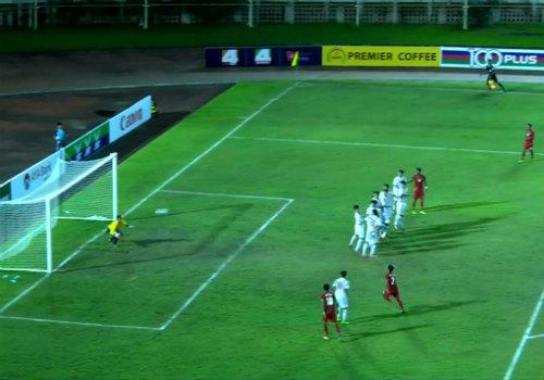 U18 Việt Nam có trận thua đầy cay đắng trước u18 Myanmar.