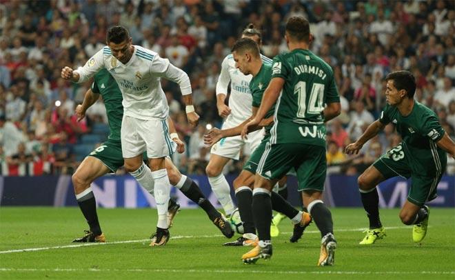 Real Madrid để thua Real Betis sau 19 năm.