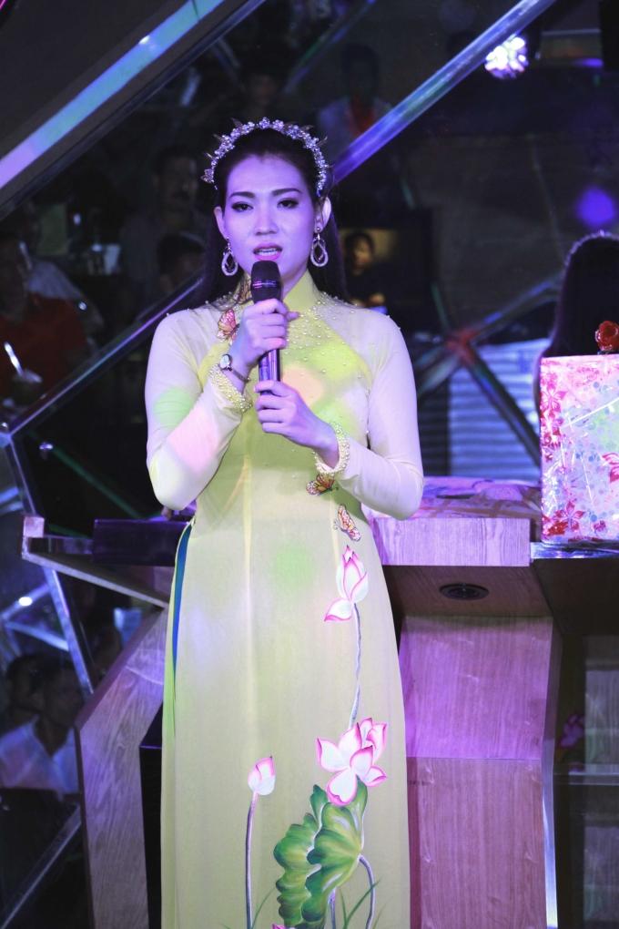 Ca sĩ Trang Anh Thơ
