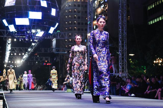 Áo dài của nhà thiết kế Thủy Nguyễn