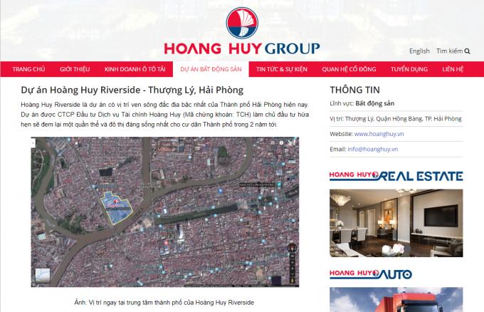 Hoàng Huy Group thâu tóm đóng tầu để phát triển đất vàng
