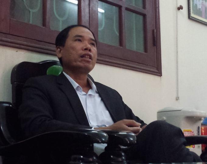 """Chủ tịch UBND phường Sao Đỏ, Phạm Hồng Hưng """"loanh quanh"""", khất lần rồi đổ thừa cho khoá trước."""