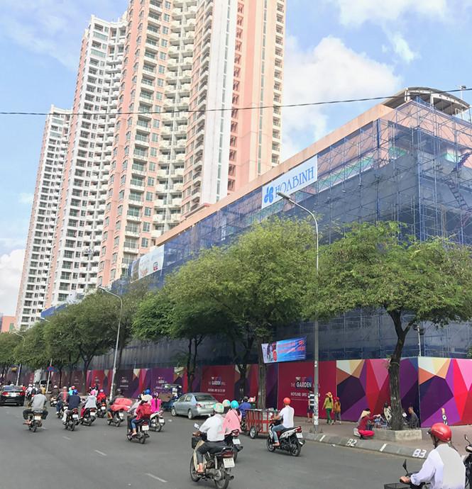 Dự án Thuận Kiều Plaza thuộc Tập đoàn Vạn Thịnh Phát.