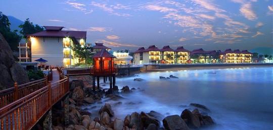 Resort Hoàng Gia Quy Nhơn do vợ ông Trần Bắc Hà làm chủ.