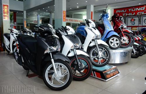 Thị trường xe máy liên tục tăng trưởng trong hai năm qua