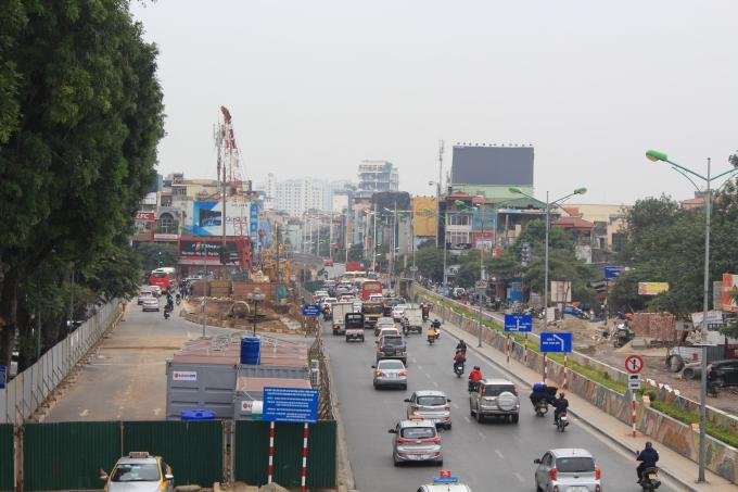 Cầu vượt nút giao An Dương - Thanh Niên có tổng mức đầu tư 312 tỷ đồng.