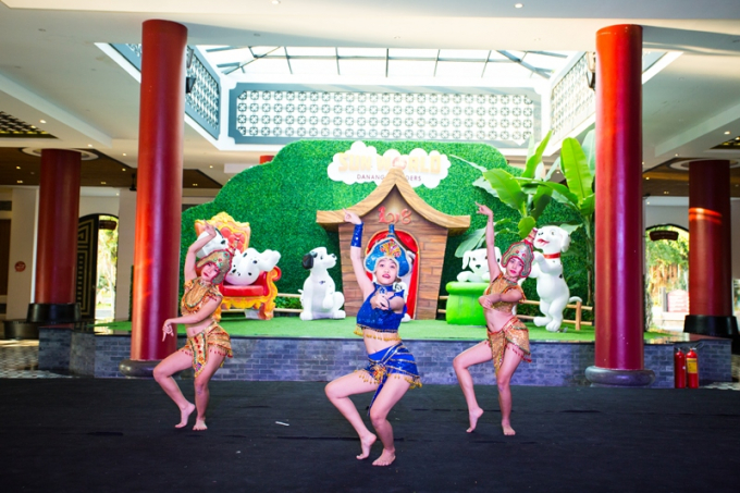 Không khí Tết có một không hai tại các khu vui chơi giải trí Sun World