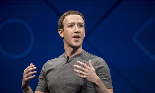Mark Zuckerberg mất 5 tỷ USD sau phiên giao dịch hôm qua vì bê bối của Facebook. Ảnh: Time.