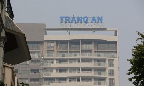 Chung cư Tràng An Complex.