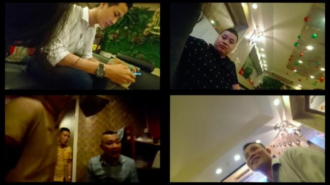 Cuộc phỏng vấn với những người quản lý ở các nhà hàng trung tâm TP HCM hoạt động với hình thức thác loạn.  - a 1235 - VIDEO điều tra: Thác loạn giữa trung tâm Sài Gòn