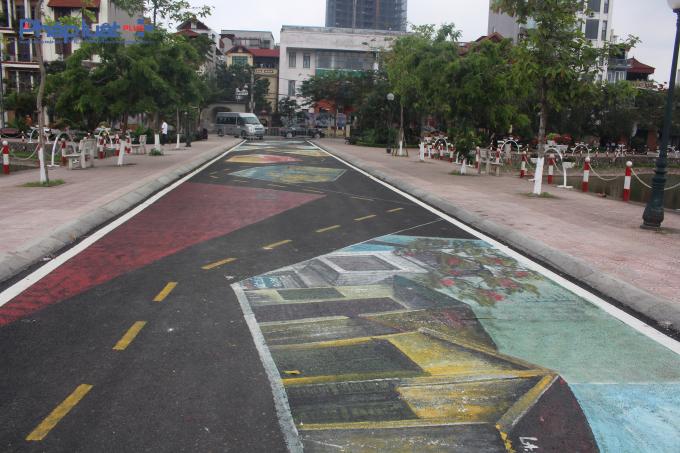 Tuyến đường bích họa với nét đẹp cổ xưa