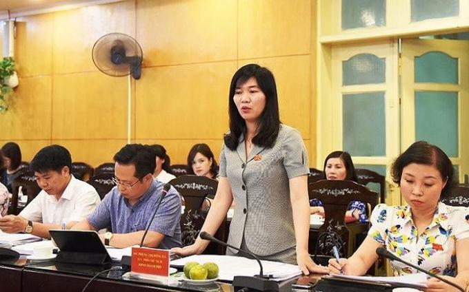 Đoàn giám sát HĐND Thành phố Hà Nội làm việc với quận Thanh Xuân