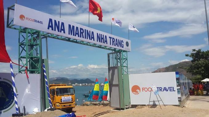 """Bến du thuyền Ana Marina do Công ty TNHH Thương Mại & Du Lịch Trọng Điểm (Focus Travel) thực hiện từng có biểu hiện bất thường trong quá trình phê duyệt, cấp phép cũng như """"đổ đá lấp biển rồi …nằm im!"""