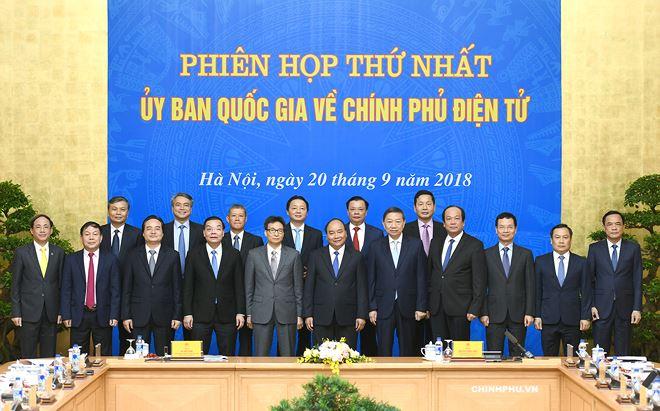 Ra mắt Ủy ban Quốc gia về Chính phủ điện tử.