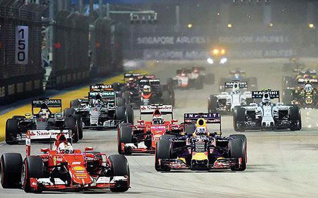 """Giành quyền đăng cai F1 là hành trình đàm phán liên tục, nỗ lực trước những sức ép cực lớn từ những """"ứng viên nặng ký"""" trong khu vực như Bangkok, Hongkong và Quảng Đông (Trung Quốc)."""