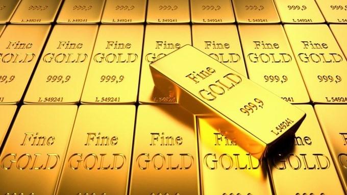 Hôm nay, giá vàng bất ngờ leo lên mức cao nhất trong 3 tuần qua khi chứng khoán Mỹ vẫn trong tình trạng bế tắc (Ảnh minh họa)