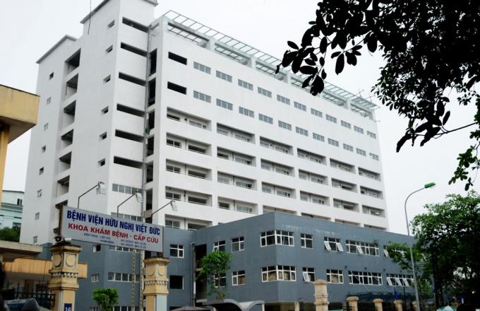 Bệnh viện Việt Đức nơi xảy ra sự việc đáng tiếc trên. (ảnh: ineternet)