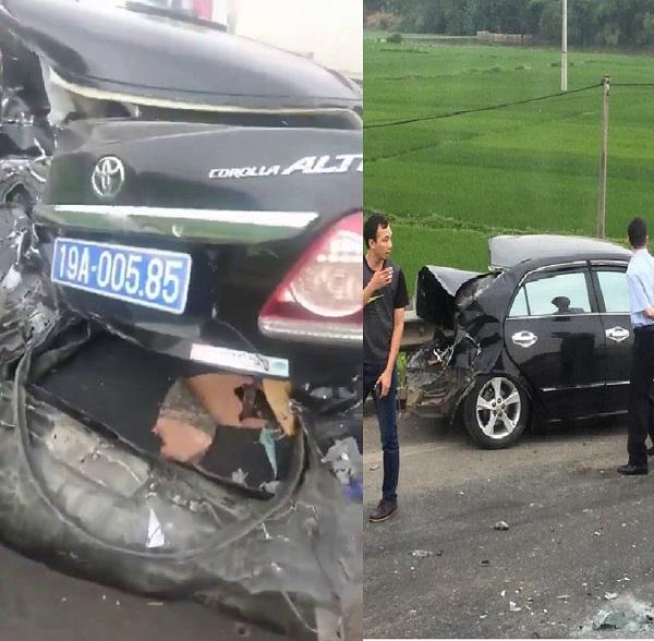 Hiện trường vụ tai nạn. (Ảnh: Fb)