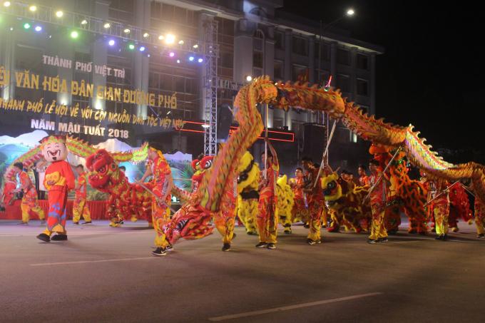 Lễ hội văn hóa dân gian đường phố là một sự kiện văn hóa mang tính cộng đồng cao, tạo không khí vui tươi, phấn khởi trong các tầng lớp nhân dân thành phố và du khách.