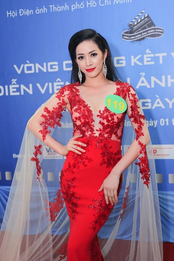Mai Thanh Hà từng đăng quang Ngôi vị Á khôi 2 - Hoa khôi Nhan Sắc Việt Nam 2016 tại Hà Nội vào tháng 3/2016.