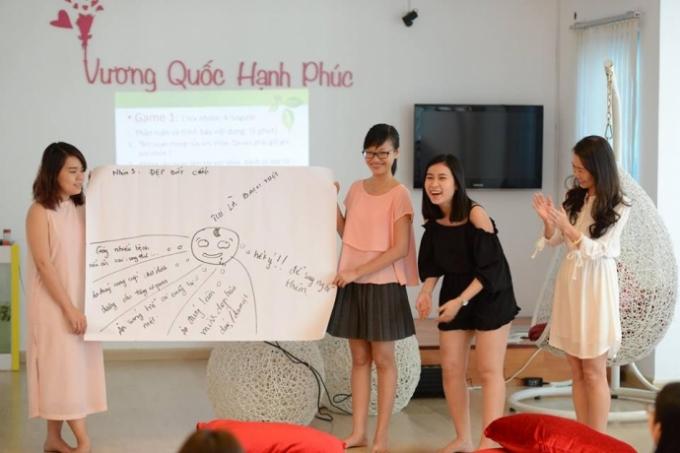 Các học viên đang tham gia lớp học