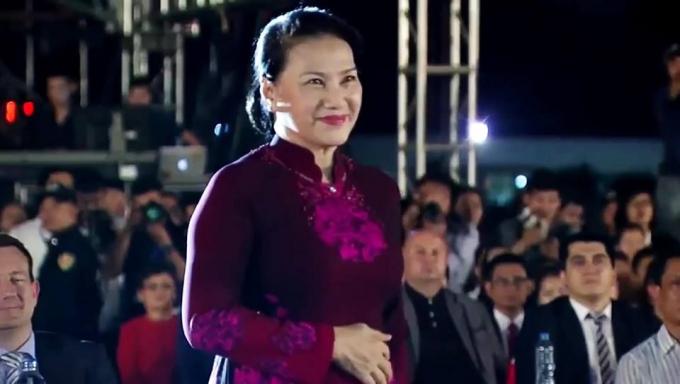Bà Nguyễn Thị Kim Ngân, ủy viên Bộ Chính trị, Chủ tịch Quốc Hội