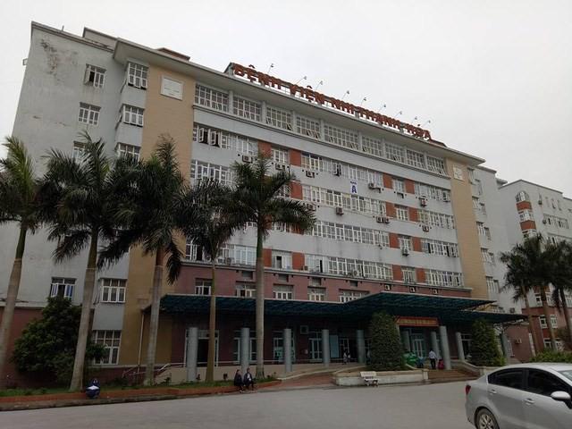 Bệnh viện Nhi Thanh Hóa- nơi xảy ra vụ việc.