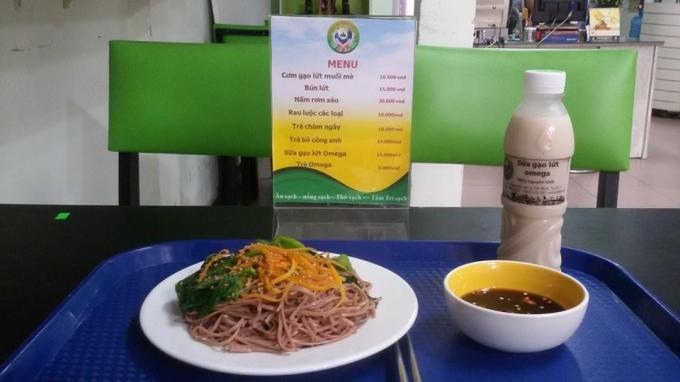 Món ăn sạch do Totha nghiên cứu