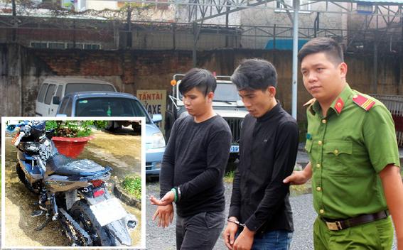 Bộ đôi ở Biên Hòa tiếp tục vào khám vì tội cướp giật.
