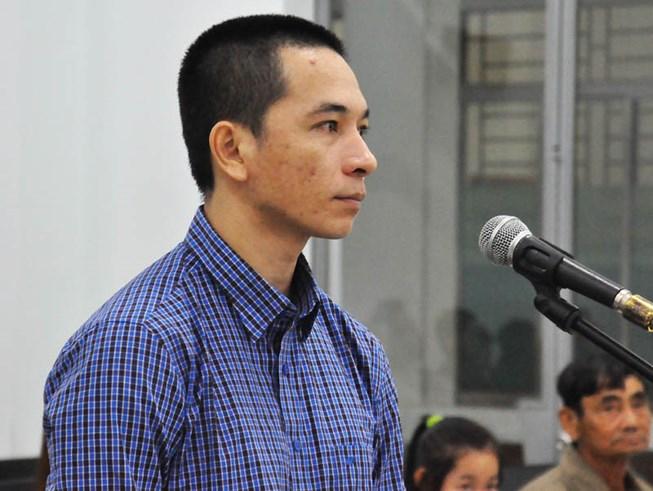 Bị cáoHuỳnh Út Việt tại phiên tòa. ( Ảnh: Tấn Lộc).